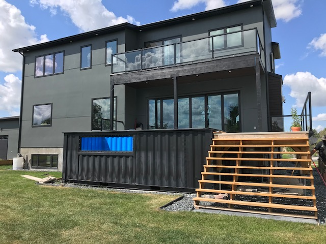 204 Container Homes- Installed 20 foot